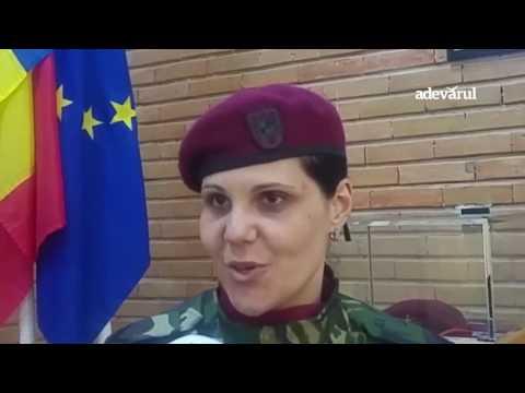Mesaj pentru femeile care vor o carieră militară