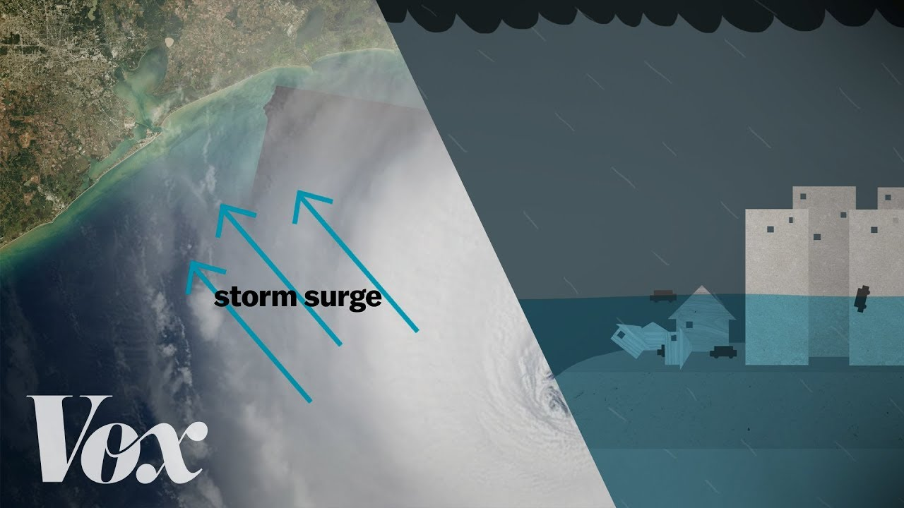 why a storm surge can be the deadliest part of a hurricane youtube