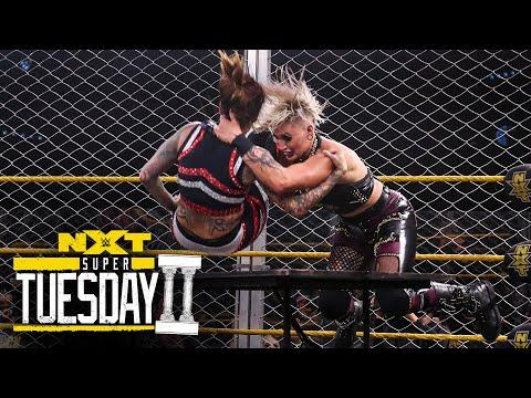 Rhea Ripley vs. Mercedes Martinez – Steel Cage Match: NXT Super Tuesday II, Sept. 8, 2020