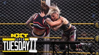 Rhea Ripley vs. Mercedes Martinez - Steel Cage Match: NXT Super Tuesday II, Sept. 8, 2020