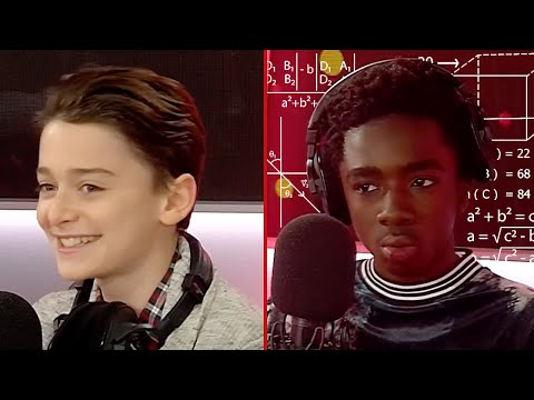 Noah Schnapp & Caleb McLaughlin vs The Most Impossible Stranger Things Quiz