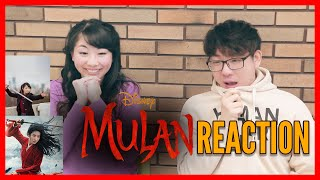 MULAN Live Action Official Trailer REACTION