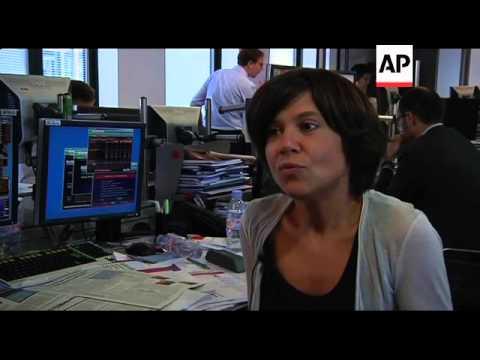 Banks bear brunt of Greek default fears; Madrid exchange; analyst, taxi strike