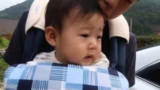 [D+256] 에끌레브 힙시트 캐리어 착용한 삼촌~
