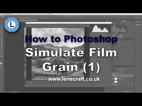 How to Simulate Film Grain Using the Photoshop Camera RAW Filter