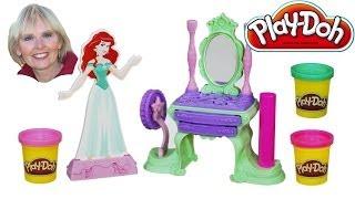 ♥♥ Play-doh Disney Princess Ariel's Vanity Set