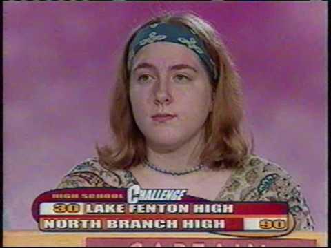 WFUM High School Challenge - Lake Fenton vs. North Branch (April 3, 2005)