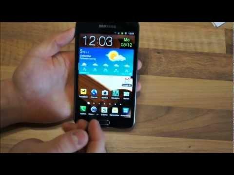 Samsung Galaxy Note Review deutsch - Teil 4: Kamera, Musik & Fazit