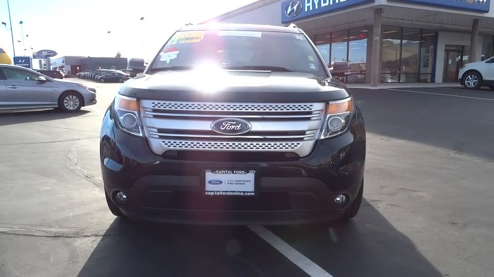 Capital Ford Carson City >> 2014 Ford Explorer Carson City, Reno, Northern Nevada, Susanville, Sacramento, CA 31663A - YouTube