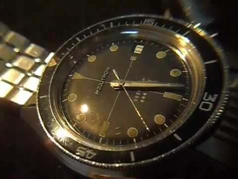 Accutron Deep sea divers watch