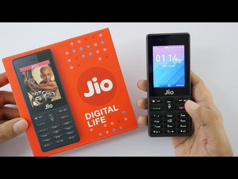 Jio Phone Unboxing & In-depth Overview - Rs 1500 Phone $23 P