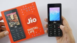 Jio Phone Unboxing u0026 In-depth Overview - Rs 1500 Phone $23 Phone!