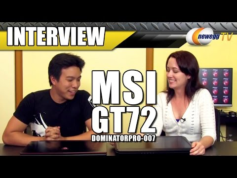 MSI GT72 Dominator Pro Interview - Newegg TV