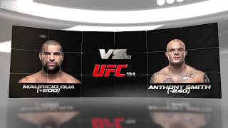 UFC Fight Night 134 Preview MAIN FIGHT Shogun vs Smith with free pick!