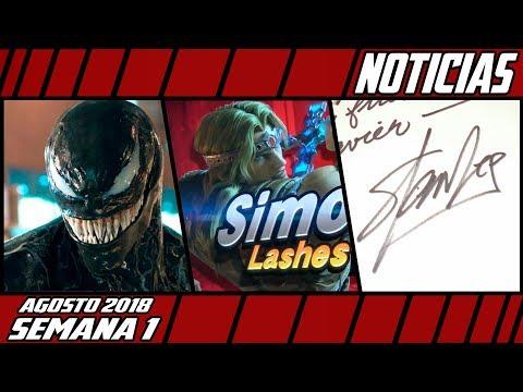 CHAOS Venom NO será para adultos, Nuevos peleadores para el Smash, No más Firmas de Stan Lee
