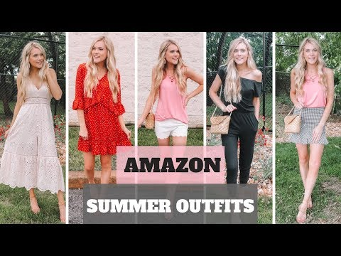 Amazon Try On Haul Summer 2019 Outfits!