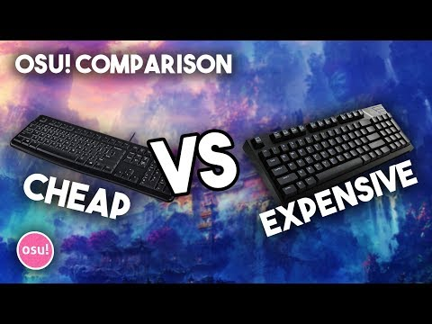 osu! Comparison | $3 Keyboard vs $150 Keyboard ( Crazy Result )