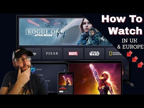 How to Watch Disney+ in UK and Europe !!