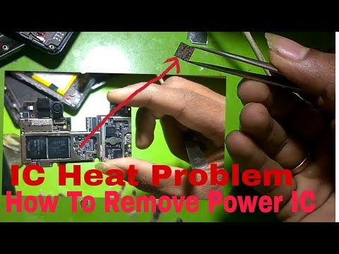 How To Repair Power IC In mobile Phones - YouTube