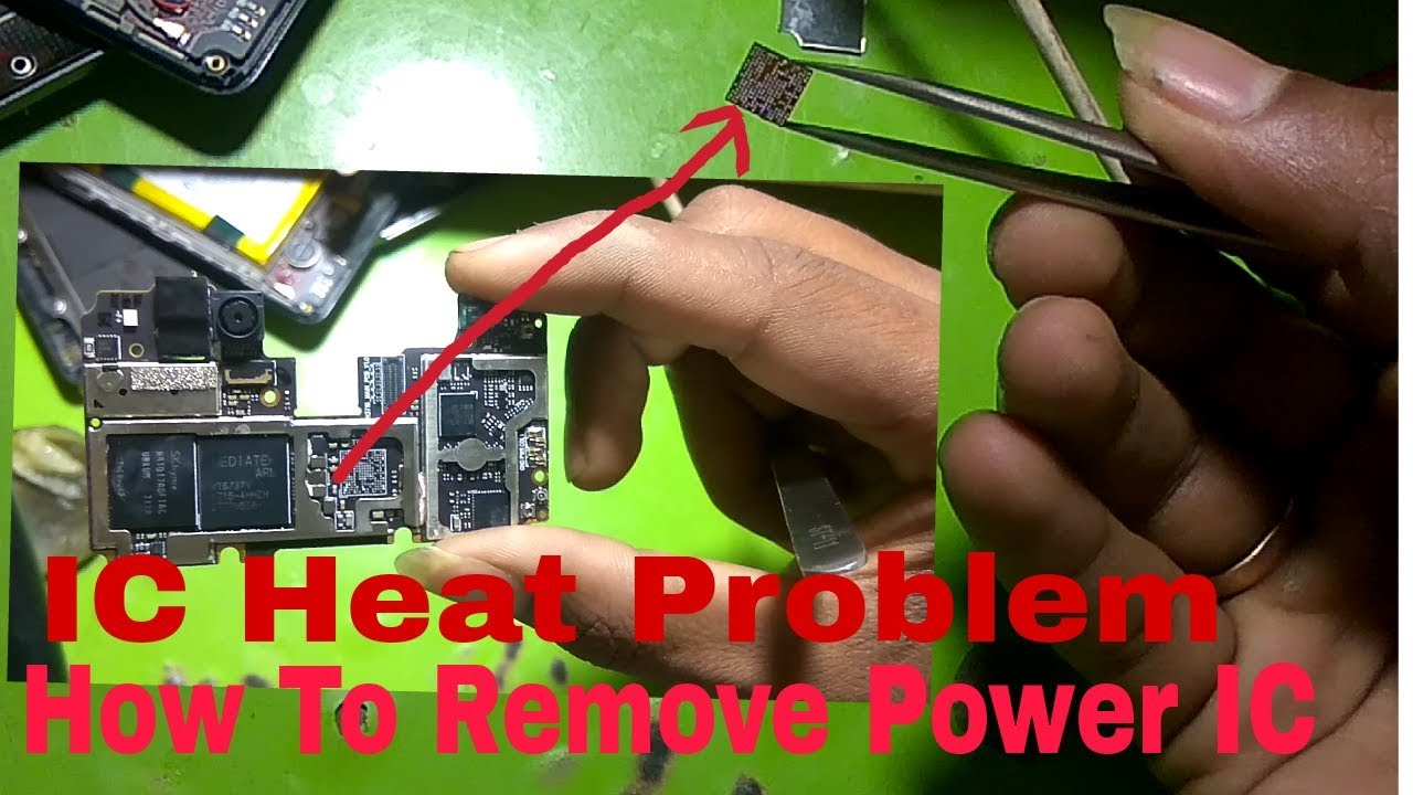 How To Repair Power IC In mobile Phones