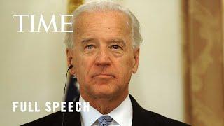 President Joe Biden Delivers Remarks on Afghanistan | TIME