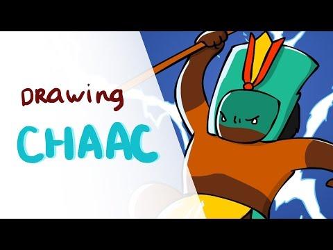 Drawing Chaac