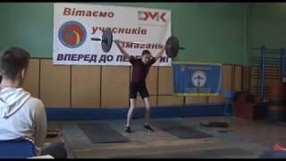 Чемпіонат Дніпропетровської області з важкої атлетики 2018 року до 13 р 7 квітня