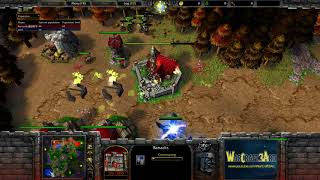 120(UD) vs Romantic(HU) - WarCraft 3 Frozen Throne - RN3962