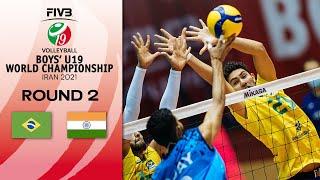 BRA vs. IND - Full Match   Eightfinals