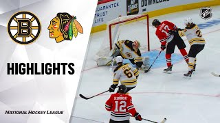09/21/19 Condensed Game: Bruins @ Blackhawks