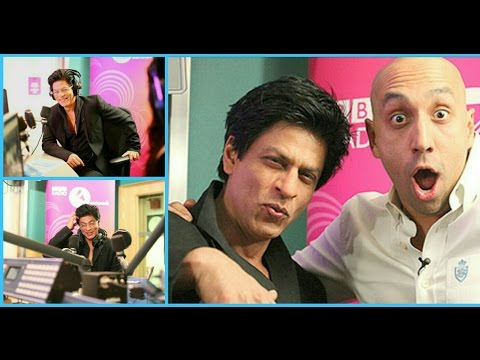 """ Shah Rukh Khan ""( SRK )at BBC Asian Networks Live Radio Show with Tommy Sandhu -  United kingdom"