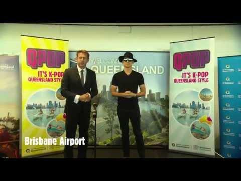 'King of K-Pop' Rain arrives in Queensland