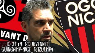 JOCELYN GOURVENNEC RÉAGIT APRÈS GUINGAMP - NICE - (0-0) / Ligue 1 - 1er décembre 2018