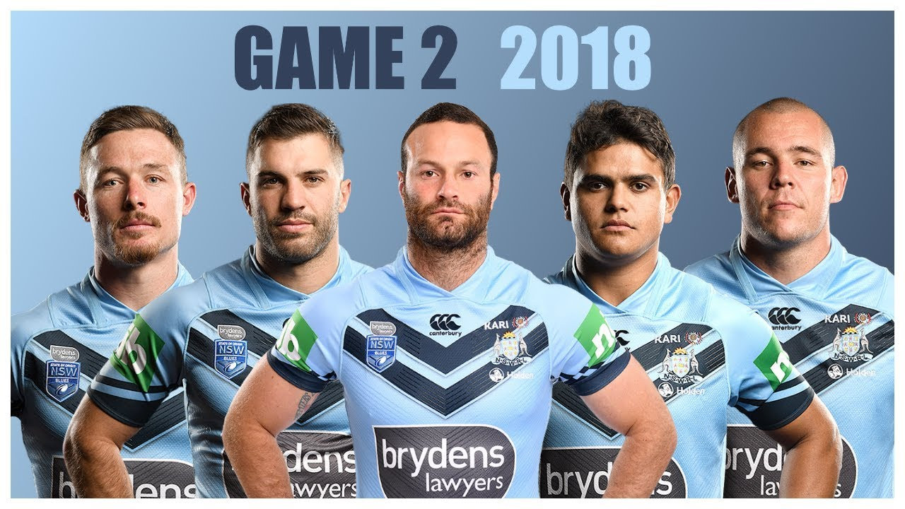 NSW TEAM THOUGHTS | ORIGIN GAME 2 2018 - YouTube