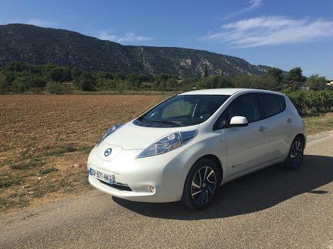 Paris-Avignon en Nissan Leaf