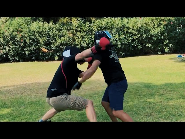Filipino Martial Arts: Knife Fight Analysis [Outside Parry vs Inside Block]