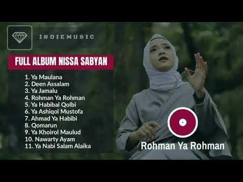 Nissa Sabyan Full Album 2018 - Rohman Ya Rohman Mp3