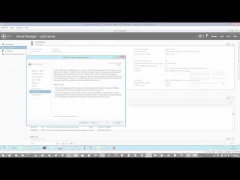 Installering av DHCP, DNS og Active Directory Domain Services på Windows Server 2012