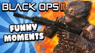 Black Ops 2 Funny Moments - Hitting on Girls, Hakuna Matata Song,  Gone