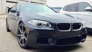 575HP 2016 BMW M5 (F10) Competition Full Review /Start Up /Exhaust /Short Drive(Facebook Fan Page https://www.facebook.com/Automoho An In depth review of the 2016 BMW M5 F10 with Competition Package dressed in Singapore Grey ..., 2016-01-16T07:27:36.000Z)