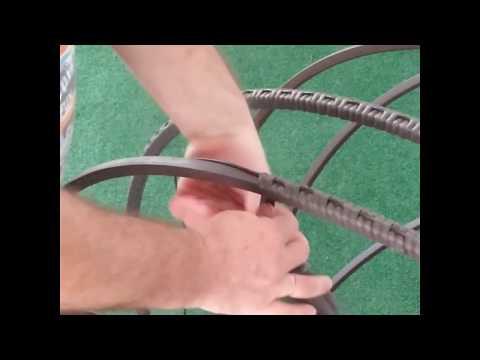 Плетение подвесного кресла своими руками. Часть 1