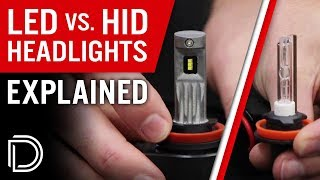 HID vs LED Headlight Bulbs: EXPLAINED