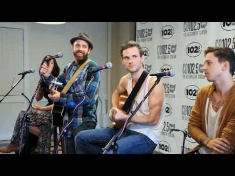 Said the Whale  Music & Interview in the CD1025 Big Room