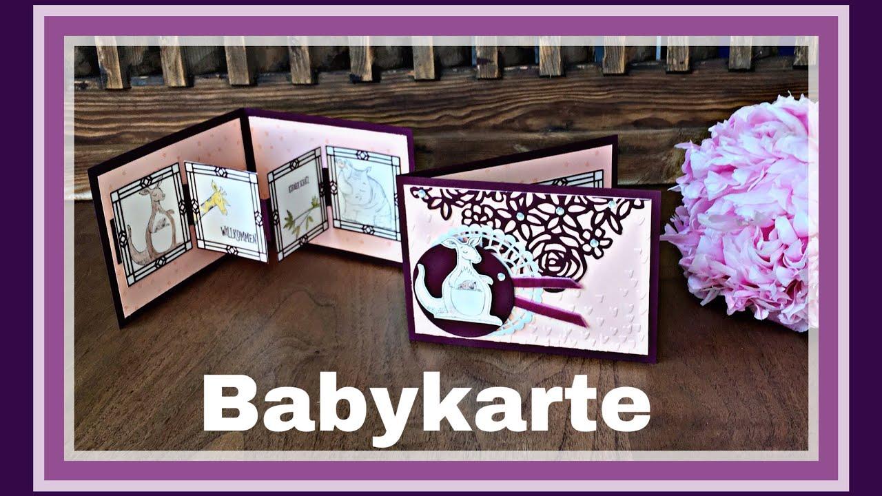 babykarte wild auf gr e stampin up hauptkatalog 2018. Black Bedroom Furniture Sets. Home Design Ideas