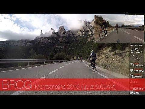 BRCG - La Montserratina 2016 ascent - Cycling in Barcelona Spain // Canyon Ultimate CF SLX