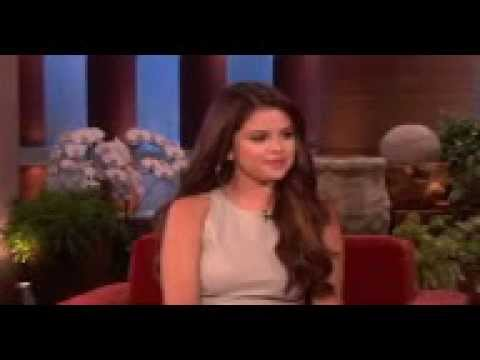 selena gomez get scared and about justin...