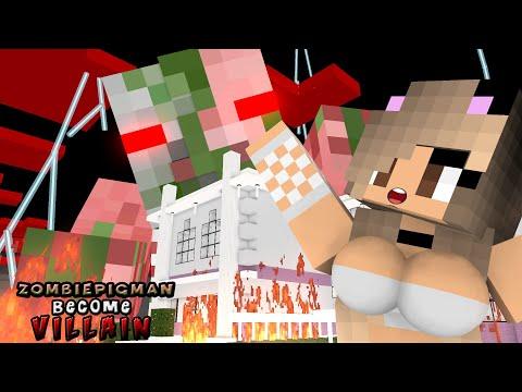 Monster School   VILLAIN ZOMBIE PIGMAN RIP MOBS   Monster School