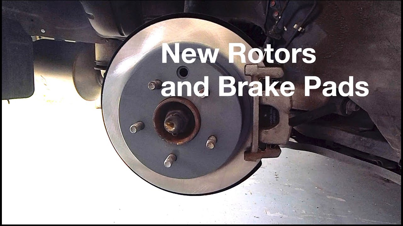 How to change the rotors and brake pads on a nissan 350z