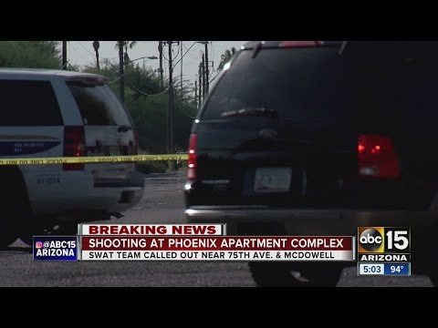 Phoenix police investigating shooting at apartment
