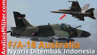 Masuk Tanpa Izin, Pesawat Tempur F/A-18 Hornet Australia Nyaris Ditembak Hawk-109/209 TNI AU